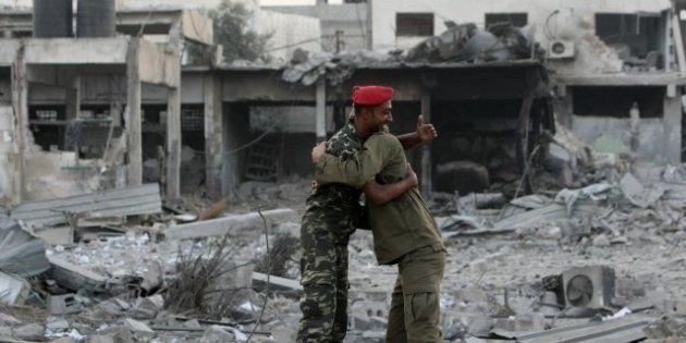 Gaza trata de volver a la normalidad tras ocho días de bombardeos y más de 163 muertos (FOTOS,
