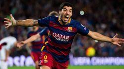 Suárez salva al Barça (2-1) y el Valencia gana al Lyon