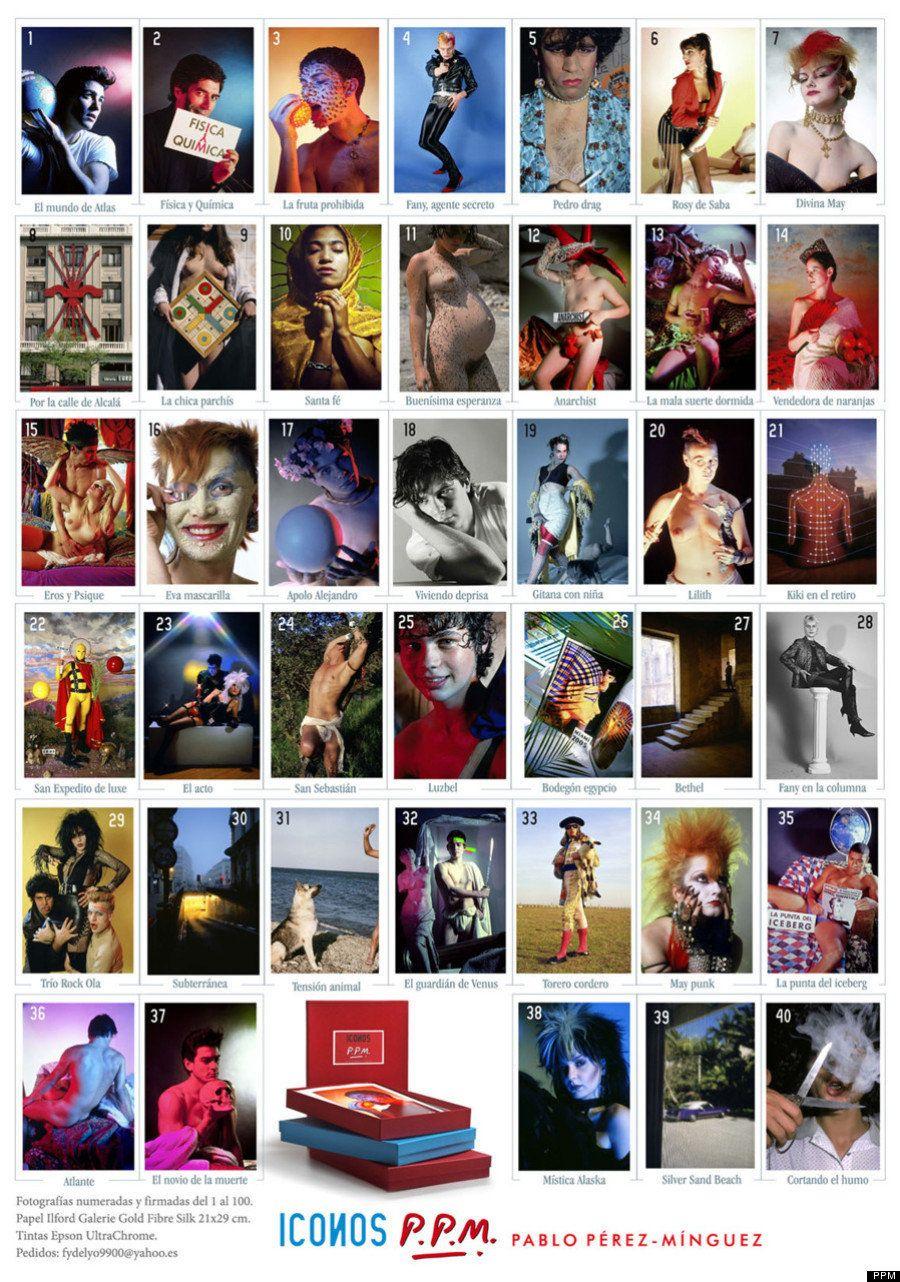 Pablo Pérez-Mínguez en un segundo: sus 40 iconos de un vistazo