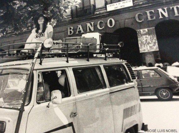 Los Sanfermines más hippies: así eran las fiestas en los