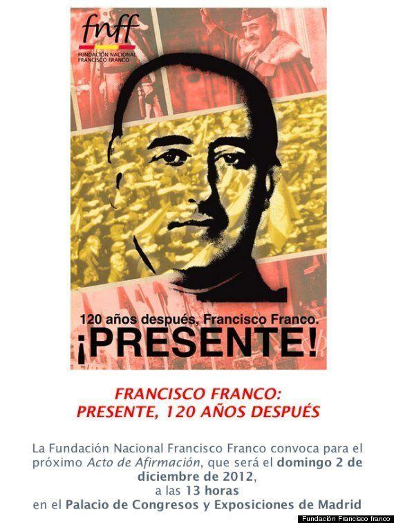 IU pide que se prohíba un acto homenaje a Franco en el Palacio de Congresos de