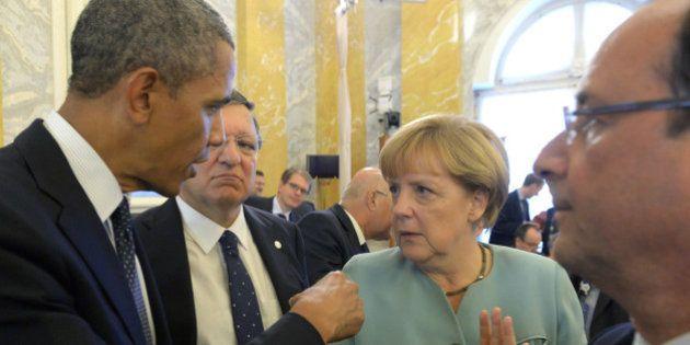 Merkel a Obama: