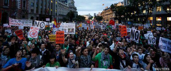 Miles de españoles claman en la calle contra la ley Wert y los recortes en Educación (FOTOS,