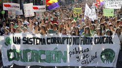 Miles de españoles claman en la calle contra la ley Wert (VÍDEO,