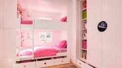 Ideas para colocar dos camas en una