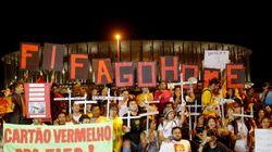 'Fifa go home': Brasil se indigna por los gastos del