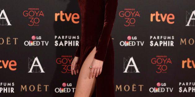 Premios Goya 2016: escotes y otras aberturas en la gala