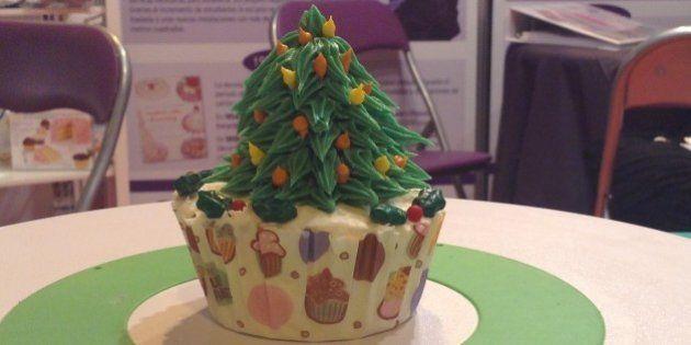 Cómo hacer un cupcake de Navidad en menos de 5 minutos (VÍDEO,