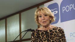Esperanza Aguirre a lo Raimon: