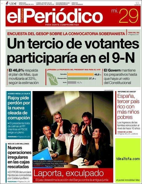 Revista de prensa 29-10-2014: inusual pero