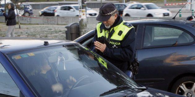 Primeras multas en Madrid a los coches con matrícula
