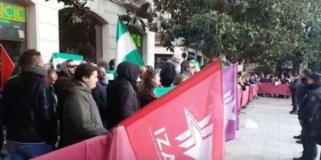 Fuertes medidas de seguridad en Granada por la 'Toma' y la polémica calienta