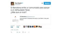 Twitter se echa encima del Barça por este comunicado sobre la sentencia de