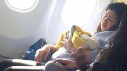 Da a luz en el avión y su bebé podrá volar gratis toda la