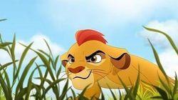 Este es Kion, el hijo de 'El Rey León'