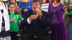 El profesor y activista Antonio Aramayona se
