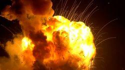Explota un cohete no tripulado de la NASA que iba a abastecer la EEI