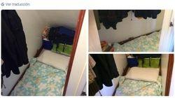 Una cama en el hueco de una escalera en Londres... por 678 euros al