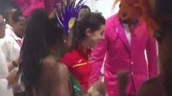 Carolina Marín se despide de Río con este bailoteo en el