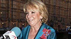 Otro 'recadito' de Esperanza Aguirre al PP: