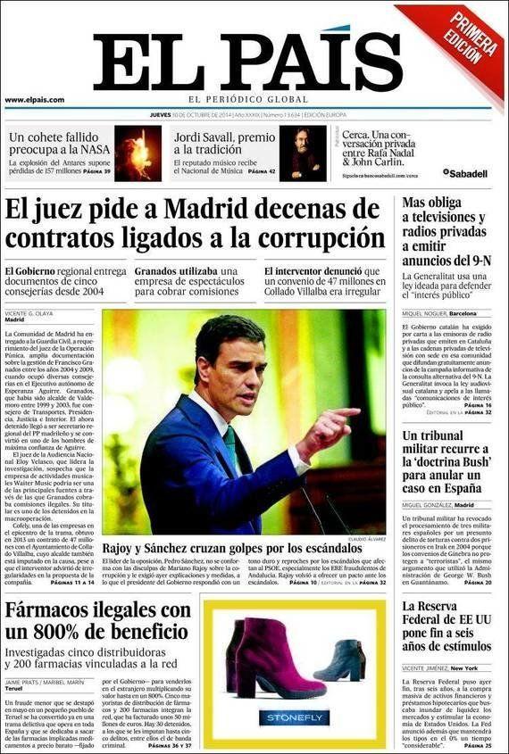 Revista de prensa 30-10-14: la corrupción somos