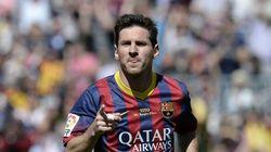 Messi logra una