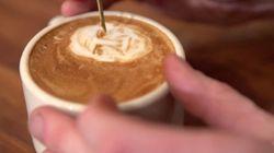 Mira lo que se puede hacer con la espuma del café con
