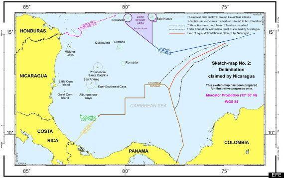 Tensión entre Colombia y Nicaragua tras el fallo de La Haya que redefine la frontera