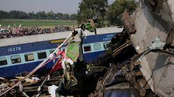 Más de cien muertos en un accidente de tren en Kanpur