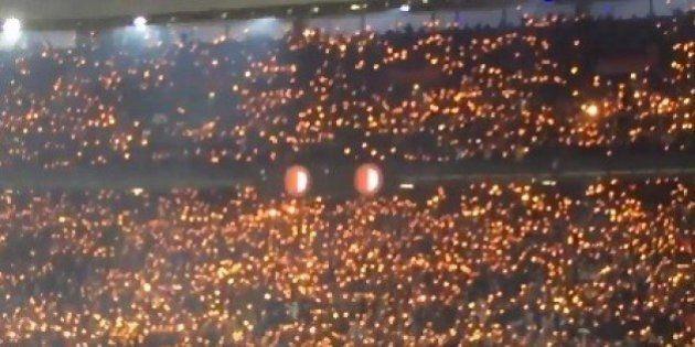 Precioso homenaje de la afición del Feyenoord a un jugador que perdió a su