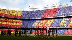 Así fue el aplauso del Camp Nou al Atlético