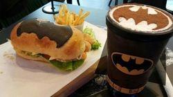¿Quieres una hamburguesa Batman o un café