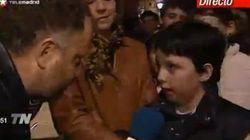 Los primeros pinitos del 'pequeño Nicolás' en televisión con 10