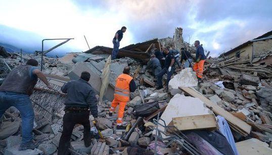 Las imágenes que deja el terremoto de