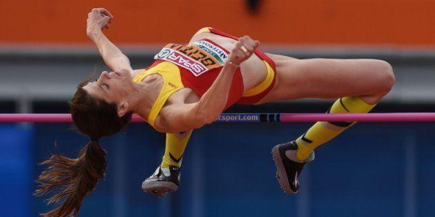 Ruth Beitia hace historia al lograr su tercer campeonato de Europa