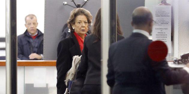 Barberá llega al Tribunal Supremo para ser interrogada por supuesto