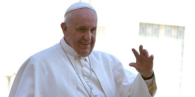 El papa se reunió en Washington con un exalumno