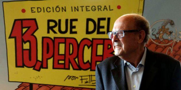 Francisco Ibáñez celebra sus 80 años con la edición integral de '13, Rue del