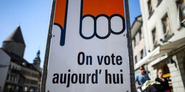 Los suizos rechazan en referéndum elevar el salario mínimo a 3.270 euros al