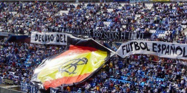 Apoyo masivo de los aficionados al Recreativo de Huelva para salvar al decano del fútbol