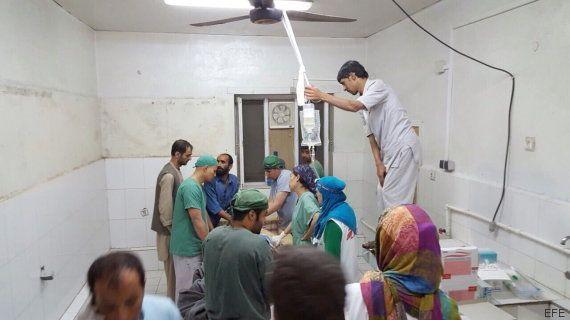 EEUU investiga el ataque contra un hospital de MSF en Kunduz que ha dejado 19