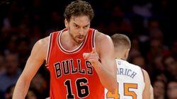 Pau Gasol brilla en su debut con los Bulls