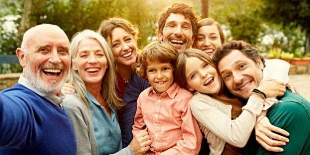 El secreto para vivir más es tener una familia