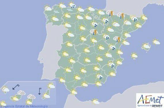 Una docena de provincias estarán en alerta por lluvias, tormentas y