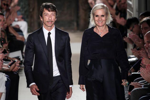 Maria Grazia Chiuri, primera diseñadora de Dior en siete décadas de