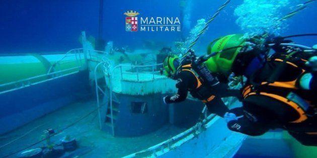 Italia recupera 217 cuerpos de inmigrantes atrapados en el casco de un buque hundido en
