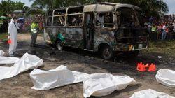 Al menos 30 menores mueren en el incendio de un autobús en el norte de