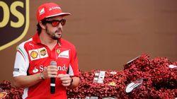 Alonso, de mal rollo con