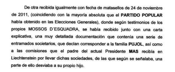 Anónimos contra Artur Mas: Uno con cargo de conciencia después de ver Salvados y otro que acusa a las