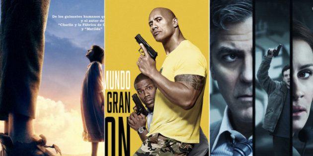 Estrenos de la semana: por qué ver 'Mi amigo el gigante', 'Un espía y medio' y 'Money